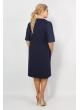 Платье Лира (темно-синий)