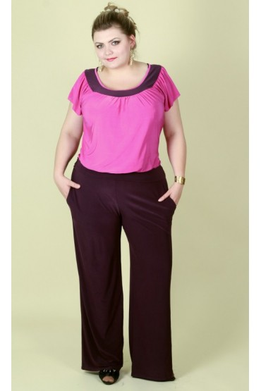 брюки Лето (фиолет)