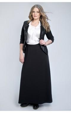 Юбка Макси Милан (черная)