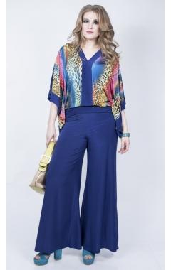 Блуза Анкара (электрик леопард)