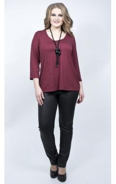 Блуза Люция (бордовый)