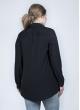 Блуза Натали гипюр (черный)
