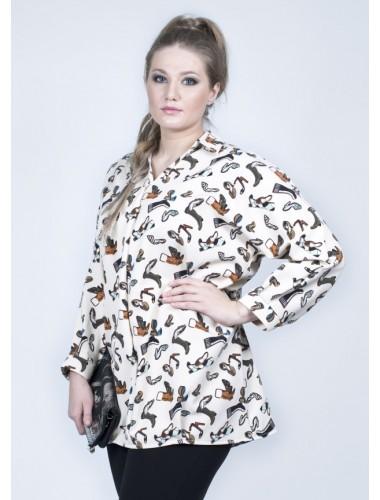 Блуза Татьяна (бежевый)
