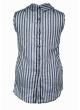 Блуза Сицилия (серый/полоска)