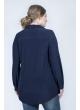 Блуза Натали (темно синяя)