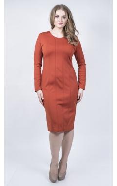 Платье Элит (терракот)