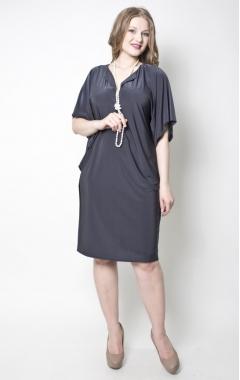 Платье Женева (серый)