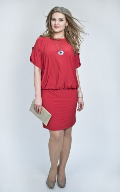 Платье Эльза (красный)