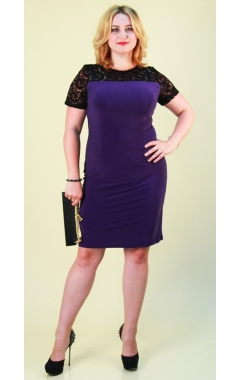 Платье Лайза (фиолет)