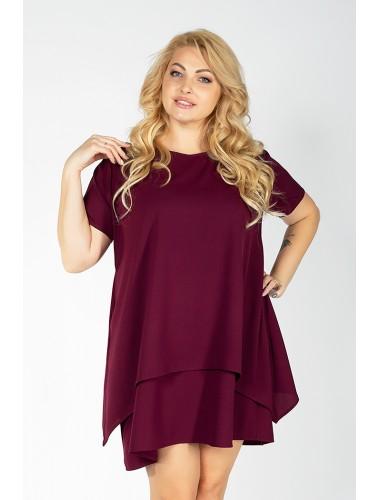 Платье Эйприл (бордовый)