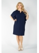 Платье Женева2 (тёмно-синий)