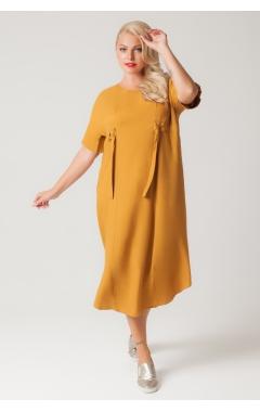 Платье Вирса (горчица)