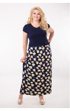 Платье Луиза (жёлтый)