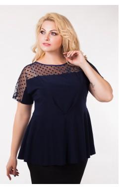 Блуза Грэмми (тёмно-синий)