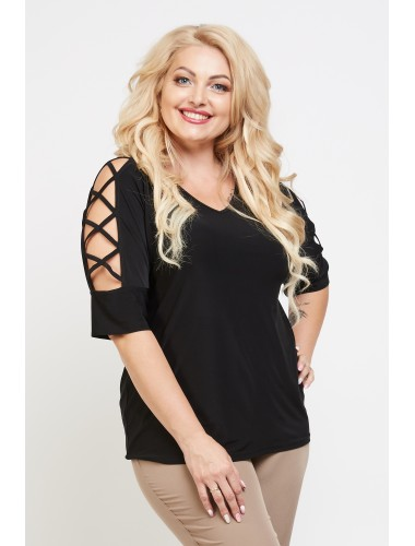 Блуза Румба (чёрный)