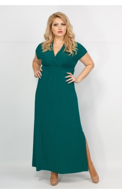 Платье Афина (тёмно-зелёный)