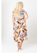 платье Флер (оранж/мульти)