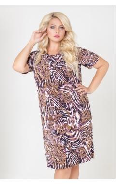 платье Каприз2 (коричневый)