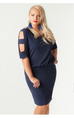 платье Нимфа (тёмно-синий)