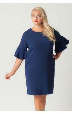Платье Сабина (тёмно-синий)