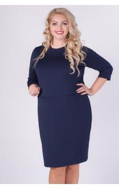 платье Сюзанна (тёмно-синий)