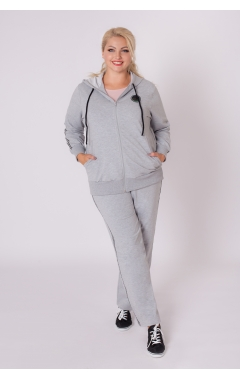 спортивный костюм Лайф (серый меланж)