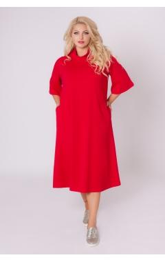 платье Джун2 (красный)