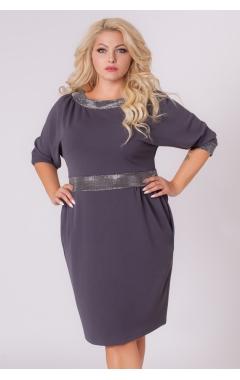 платье Блеск (серый)