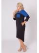 платье Хелен (синий)