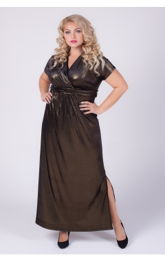 платье Ким Блеск (чёрный)