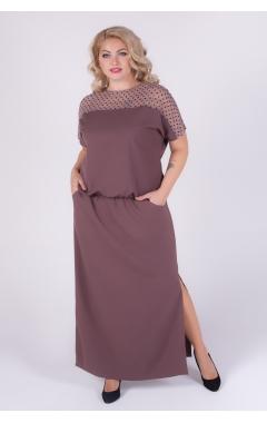 платье Глория Люкс (капучино)