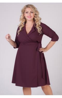 платье Орфей (тёмно-бордовый)