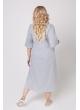 платье Джун2 (серый меланж)