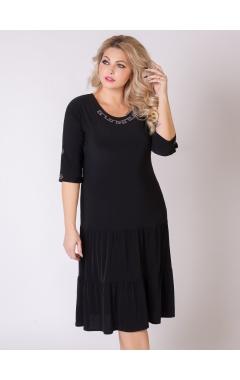 платье Лирика (чёрный)