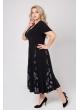 платье Фиеста (чёрный/узоры)