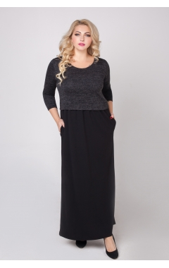 платье Бренда (чёрный)