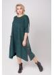 платье Роксана (зелёный/люрекс)