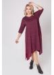 платье Роксана (бордовый/люрекс)