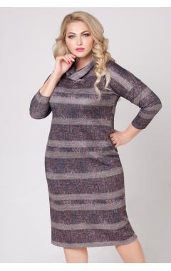 платье Лучано (полоска/беж)