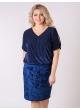 платье Карина (тёмно-синий)