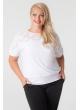 Блуза Кружево (белый)