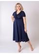 платье Стразы (тёмно-синий)