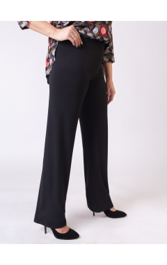 брюки Прямые (чёрный)