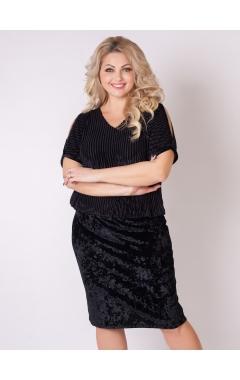 платье Карина (чёрный)