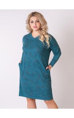 платье Ариша (бирюза)