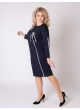 платье Лента (тёмно-синий)