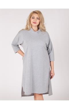 платье Джанго (серый меланж)