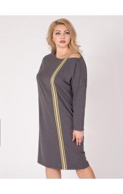 платье Спортшик (тёмно-серый)