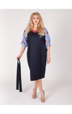 платье Ривьера (тёмно-синий)