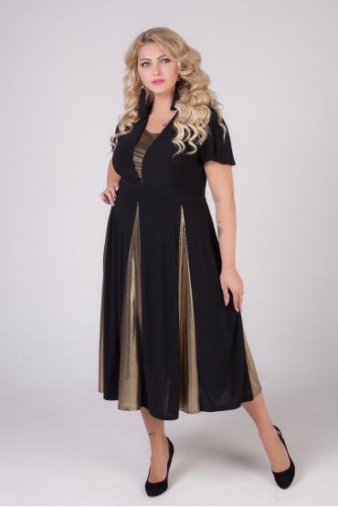 платье Фиеста (черный/голд)